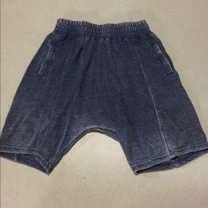 Zara Drop Crotch Knit Short size L